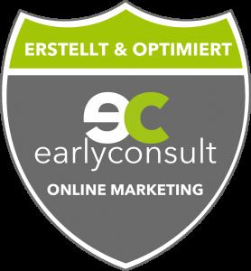 Diese Website wurde von der earlyconsult GmbH erstellt und und für die lokale Suche optimiert